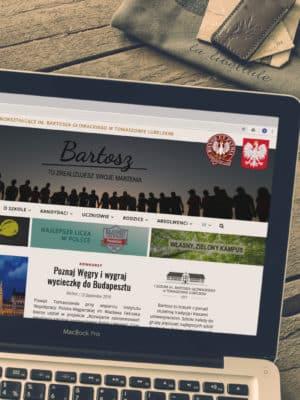 Nowa strona Bartosza